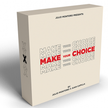 Mentalism MAKE YOUR CHOICE by Julio Montoro and Juan Capilla TiendaMagia - 1