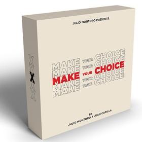 Mentalismo MAKE YOUR CHOICE de Julio Montoro y Juan Capilla TiendaMagia - 1