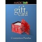 Gift Card Blue (Gimmick and Online Instructions) by Constantinos Pantelias